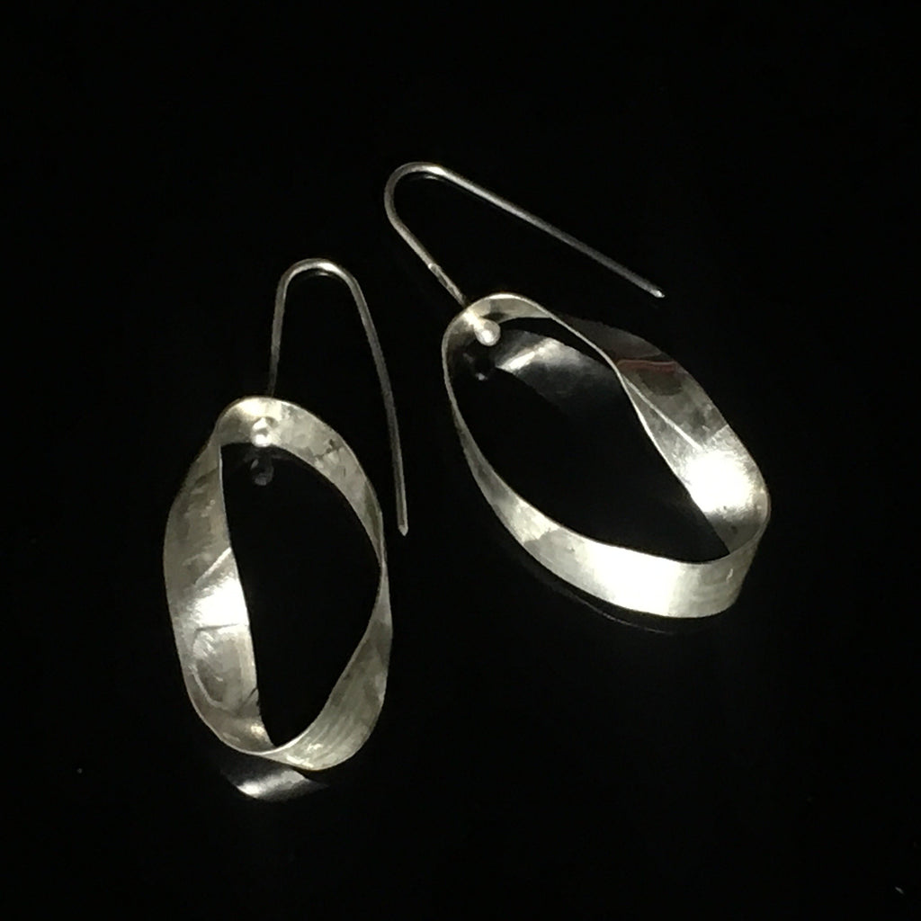 Pure Energy silver earrings
