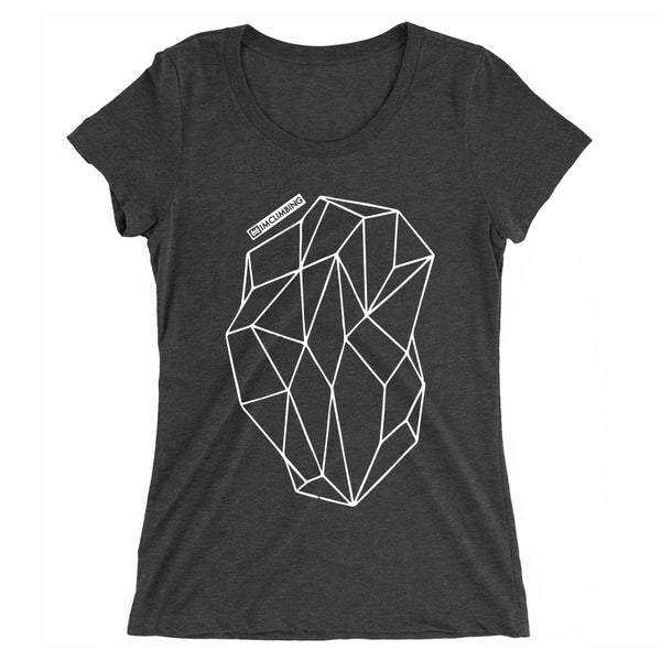 IMClimbing Boulder Design on Charcoal T-Shirt - Women