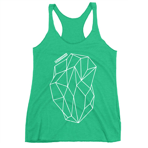IMClimbing Boulder Design on Grass Tank Top - Women