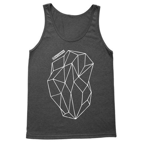 IMClimbing Boulder Design on Charcoal Tank Top - Men