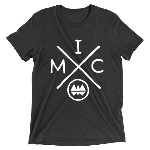 IMClimbing IMC Logo Design on Charcoal T-Shirt - Men