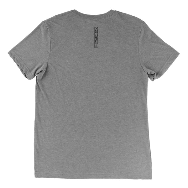 IMClimbing IMC Logo Design on Grey T-Shirt Back - Men