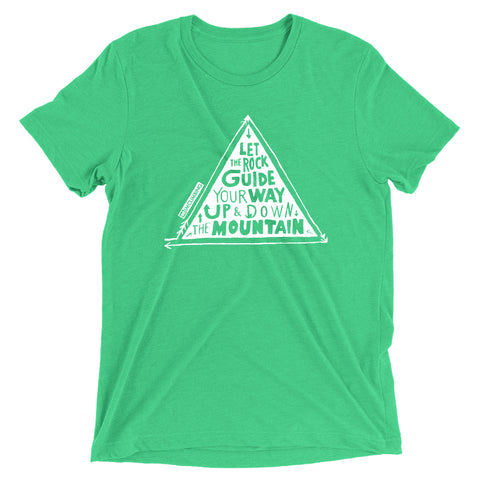 IMClimbing Rock Guide Design on Grass T-Shirt - Men