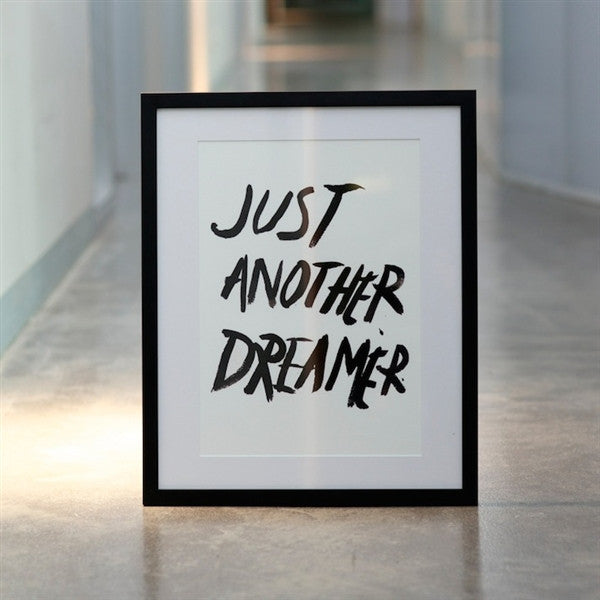 Just another dreamer watercolour print - Six Things - 2