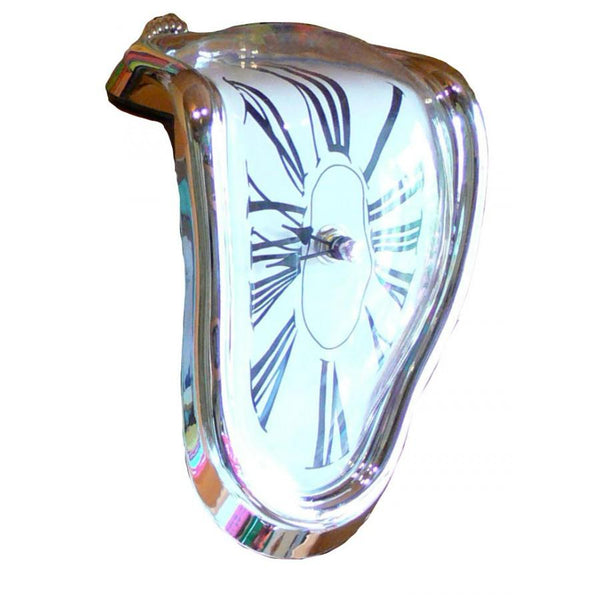 Dali melting clock statue - various