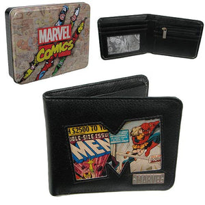 Marvel retro comic wallet