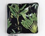 Load image into Gallery viewer, Tropical Monkey cotton & velvet cushion cover
