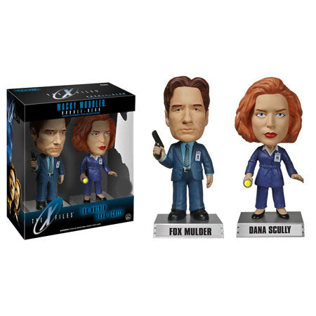 X files wacky wobble TV show toy figure