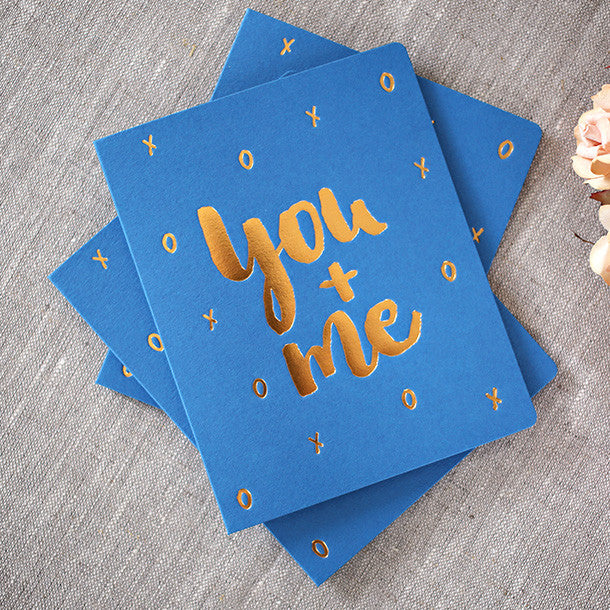 Letterpress greeting card - Six Things - 9