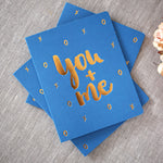 Load image into Gallery viewer, Letterpress greeting card - Six Things - 9