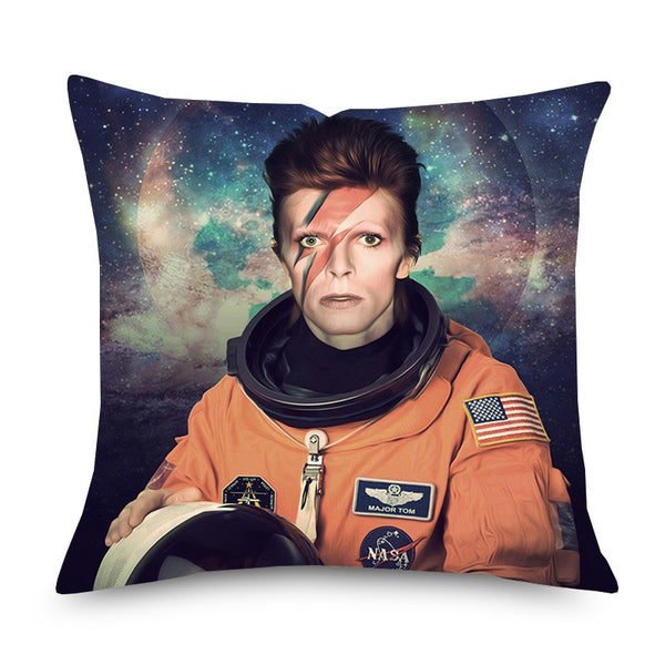 Major Tom David Bowie muso cushion cover - preorder