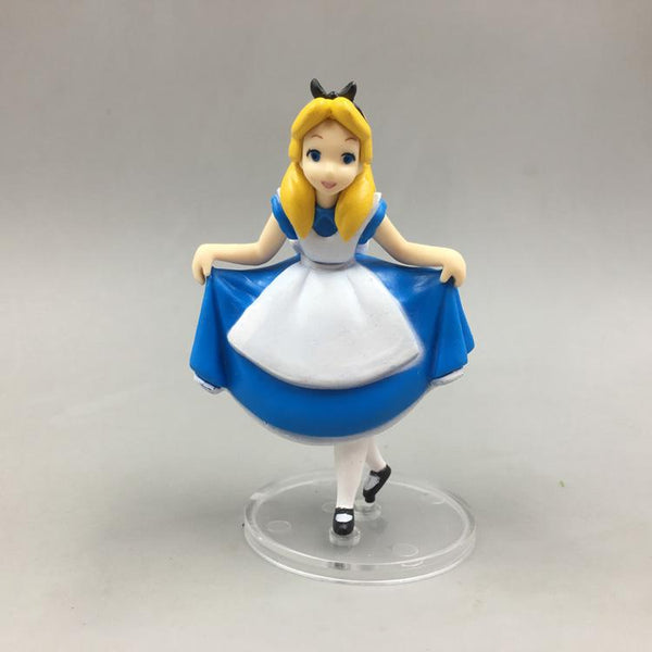 Alice in wonderland cake topper statue figure