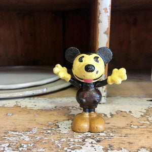 Vintage Mickey Mouse Disney cast iron statue