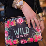 Load image into Gallery viewer, Wild at heart adjustable strap bag