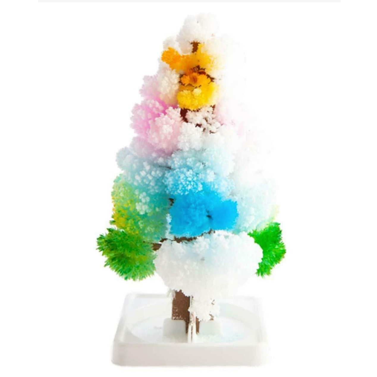 Grow a magic crystal tree