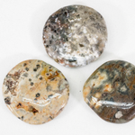 Load image into Gallery viewer, Ocean jasper crystal palm stone - various