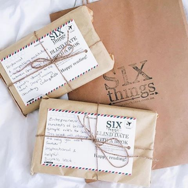 Blind date with a book - Six Things - 1