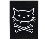 Load image into Gallery viewer, Pirate kitty cat poster print