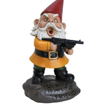 Load image into Gallery viewer, Angry mafia garden gnome
