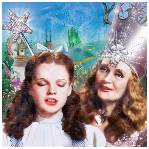 Wizard Of Oz Dorothy Collectible Canvas Block Frame Print Six Things