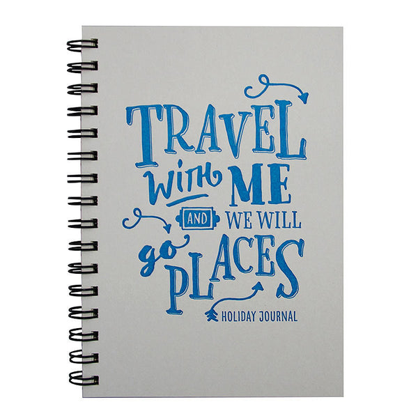 Letterpress wanderlust travel journal - Six Things - 1