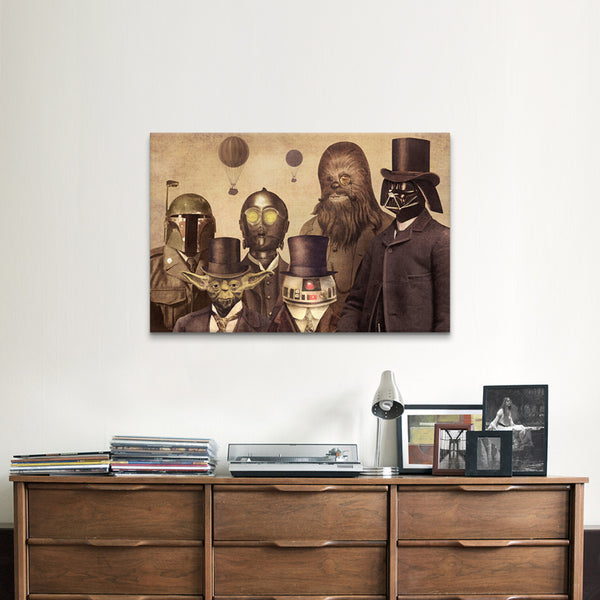 Star wars lords A2 poster print - Six Things - 1