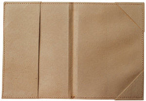 Wanderer leather passport holder