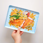 Load image into Gallery viewer, Fish n chips plate / platter