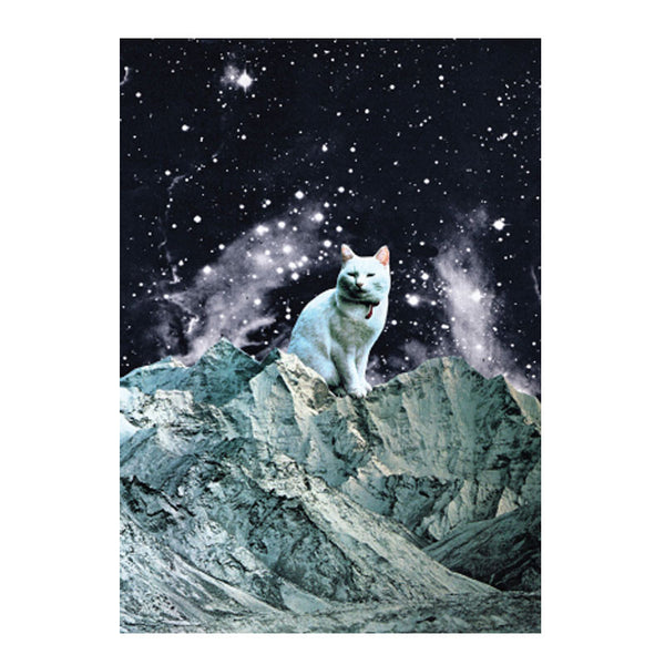 Galaxy cat poster - Six Things