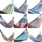 Load image into Gallery viewer, Bohemian tropical 100% cotton striped hammock