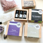 Load image into Gallery viewer, Essential oil / himalayan salt gift pack