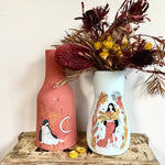 Load image into Gallery viewer, Hand made earthware boho harmony vase - limited edition