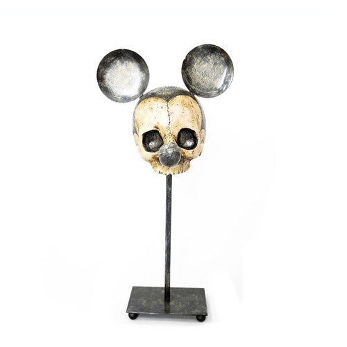Adieu Mickey mouse skull statue - Six Things