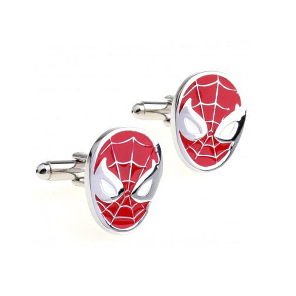 Superhero cuff link pair - various