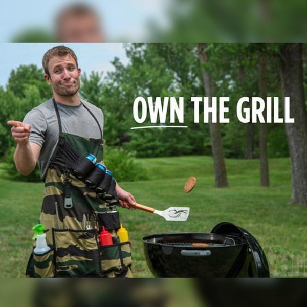 Ultimate man apron - the grill sergeant