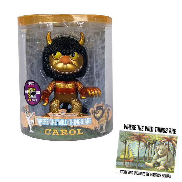 Where the wild things are King Carol figure
