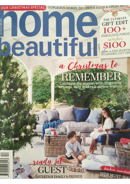 Home Beautiful Magazine December 2015 - Losari Home & Woman