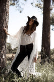 Goddess Kimono - white - My Wild Heart Collection - bohemian fashion - Losari