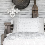 Mantra Cushion - Cushions - losari - bohemian fashion - white - soft - beautiful