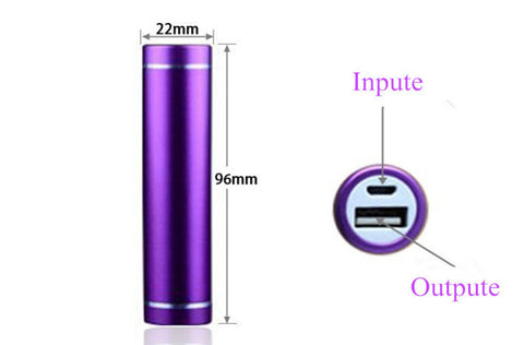 Portable Mobile Power Bank USB 1x 18650 Battery Charger Case for Phone