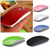 Ultra Thin Optical Wireless Mouse And 2.4G USB Receiver