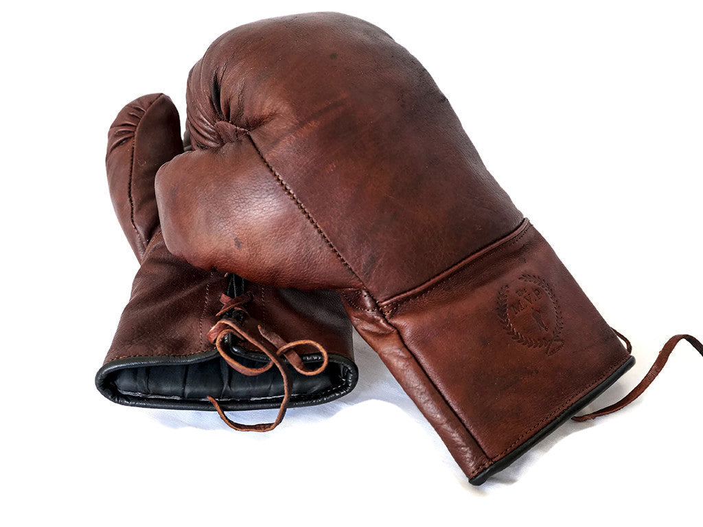 Custom Made/Custom Logo Leather Boxing Gloves Handmade