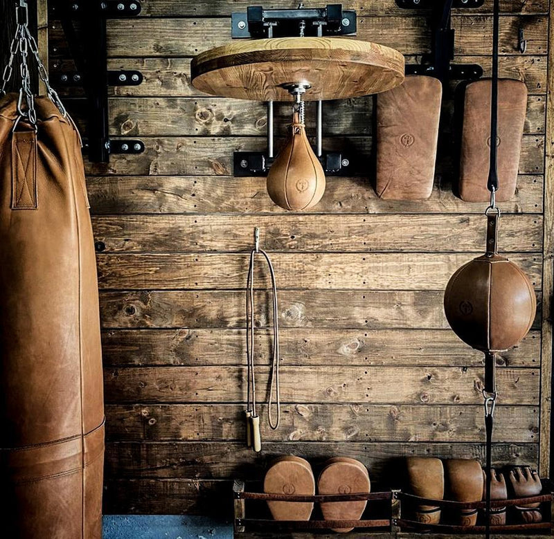 PRO Heritage Brown Leather Boxing Speed Ball