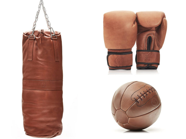 PRO Deluxe Tan Leather Boxing Package (Premium)