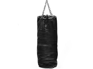 RETRO Executive Black Leather Heavy Punching Bag (un-filled)