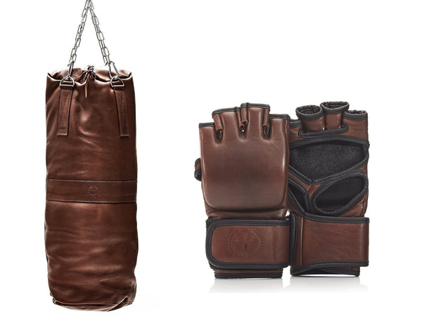 PRO Heritage Brown Leather MMA Package