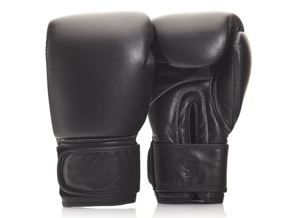 PRO Executive Black Leather Boxing Package (Strap Up)