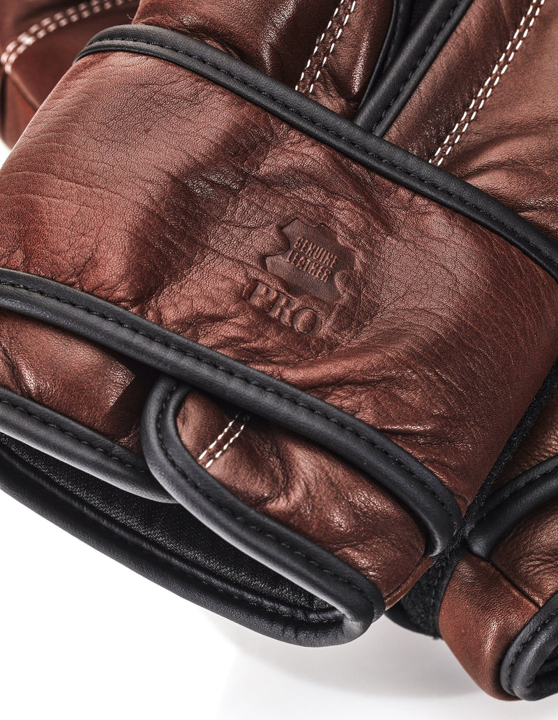 PRO Heritage Brown Leather Boxing Package (Strap Up)