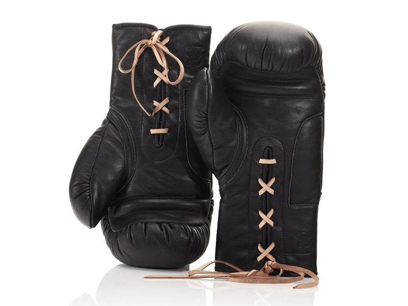RETRO Executive Black Leather Boxing Package
