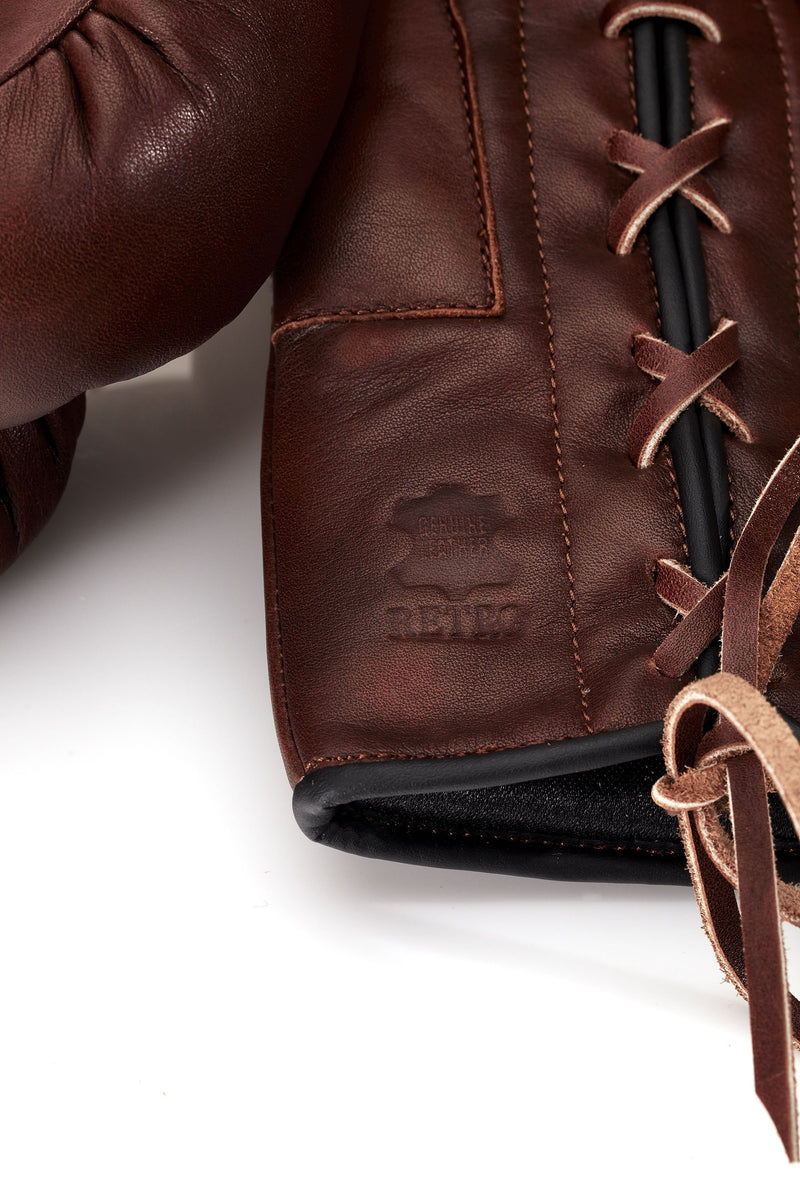 RETRO Heritage Brown Leather Boxing Package (Premium)